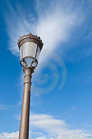 Spanish streetlamp