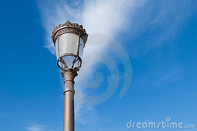 Spanish streetlamp
