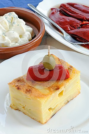 Spanish tapas, Andalusia.