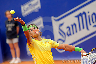 Spanish tennis player Rafa Nadal Editorial Photo