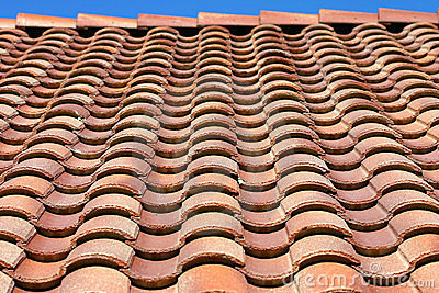 Spanish Tile Roof Texture