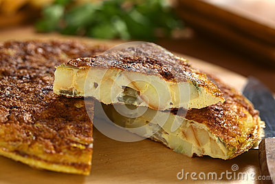 Spanish Tortilla Omelette