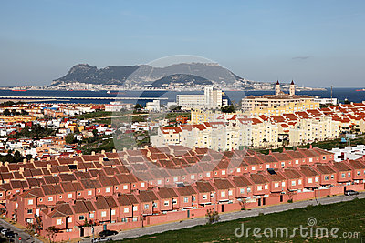 Spanish town Algeciras