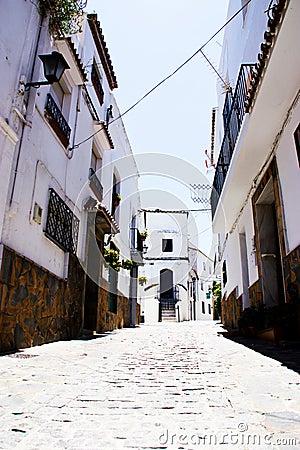 Spanish typical village