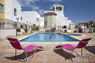 Spanish Vacation Resort - Swimming Pool