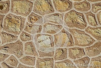 Spanish vintage wall pattern