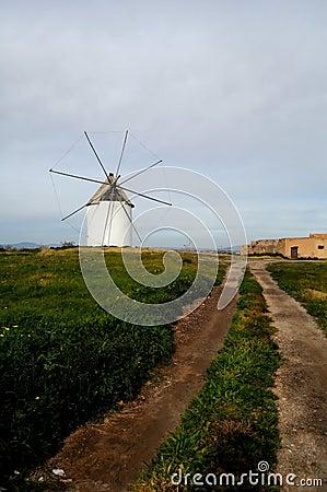 Free Spanish Windmill Stock Photo - 13013830