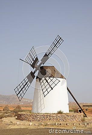 Free Spanish Windmill Royalty Free Stock Photography - 14582297