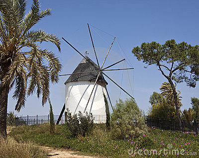 Spanish Windmill - Torre Pacheco - Murcia - Spain
