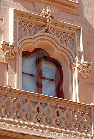 Free Spanish Window Royalty Free Stock Image - 2173786