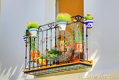 Spanish Window Box
