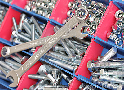 Spanners, bolts and nuts