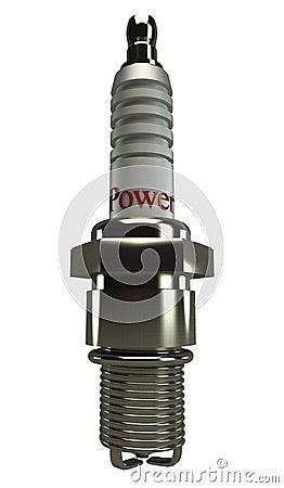 Spark Plug 3d