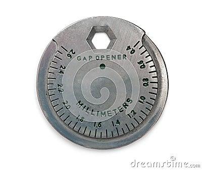 Spark plug gap tool