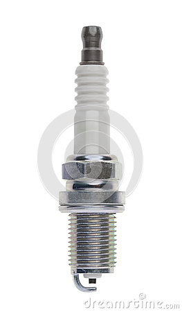Spark plug, isolated