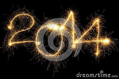 Sparking 2014 Year