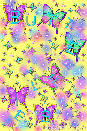 Sparkling Butterflies and Bugs