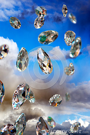 Free Sparkling Diamonds Stock Image - 29861591
