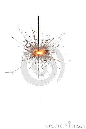Sparkling firework