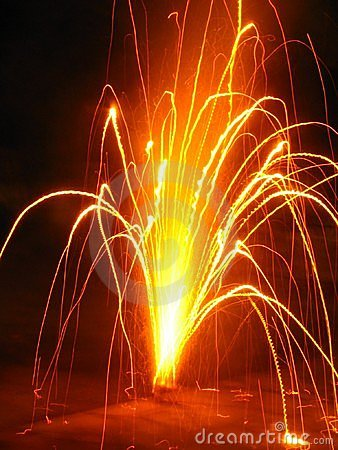 Free Sparkling Fireworks Stock Photo - 1233490