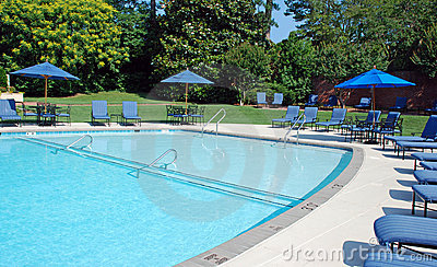 Sparkling Pool Metal Furniture