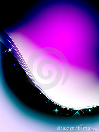 Sparkling purple Lighting Effect Background