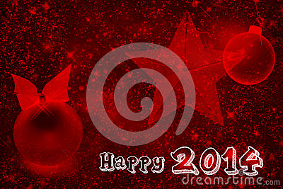 2014 sparkling red wallpaper