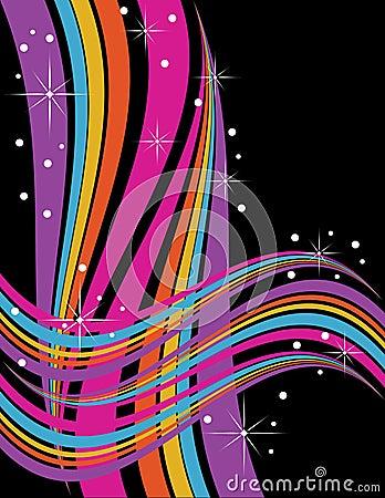Sparkling Swirls