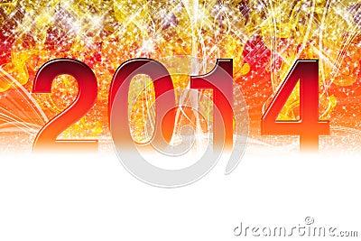 2014 sparkling wallpaper
