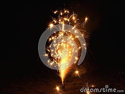 Sparkly Fireworks