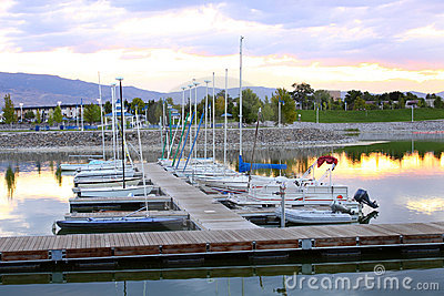 Sparks Marina dock