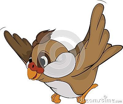Sparrow.Cartoon