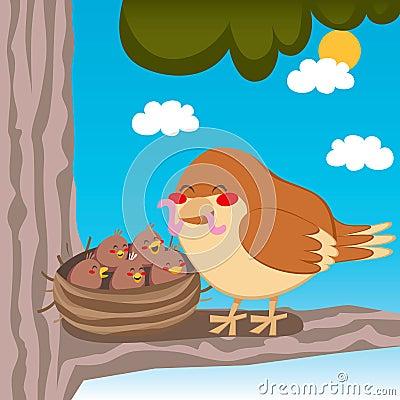 Sparrow Mom