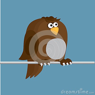 Sparrow Sitting On  Wire Royalty Free Stock Image - Image: 15227956
