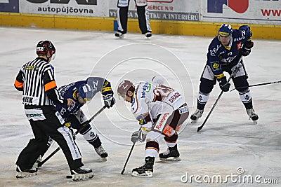 Sparta prague vs. HC Vitkovice - Ice hockey Editorial Image