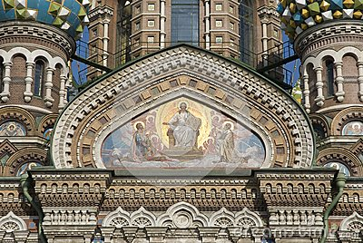 Spasa na krovi Cathedral fresco