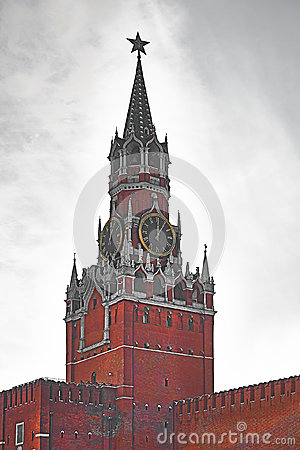 Spasskaya tower with chimes