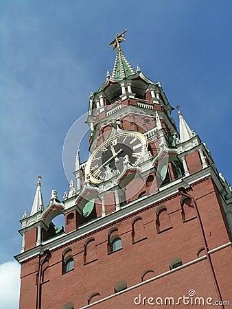 Spasskaya Tower, Moscow Kremlin,