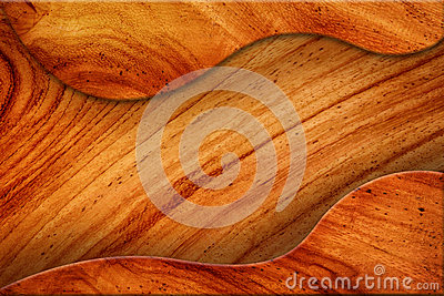 Spatie van bruine houten textuur.