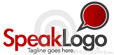 Speak Logo Template 4