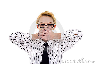 Speak No Evil Royalty Free Stock Images - Image: 14213049