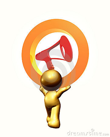Speak your mind icon symbol