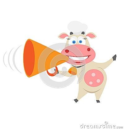 Speaker cow
