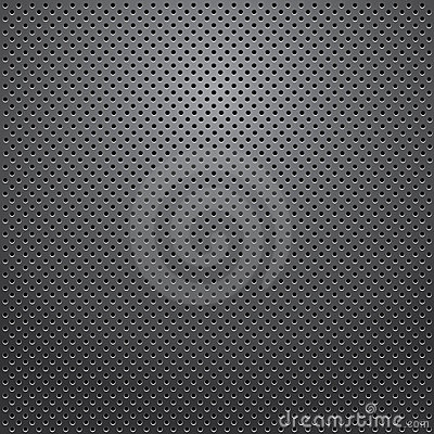 Free Speaker Grill Texture. Vector. Royalty Free Stock Photography - 17853847
