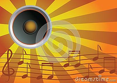 Speaker and music