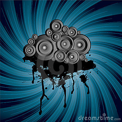 Speaker stack swirl