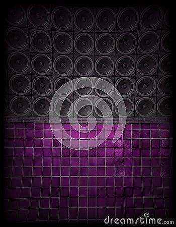 Free Speaker Wall Royalty Free Stock Photos - 8305388