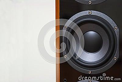 Sound system woofer