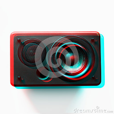 Free Speaker Woofer Musical Electronic Audio Bass Royalty Free Stock Images - 99197379