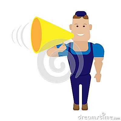 Speaker worker